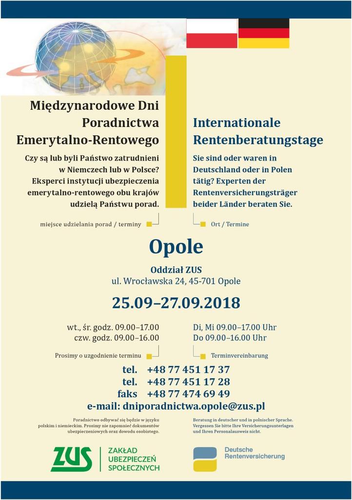 Plakat_ Międzynarodowe Dni Poradnictwa - Opole.jpeg
