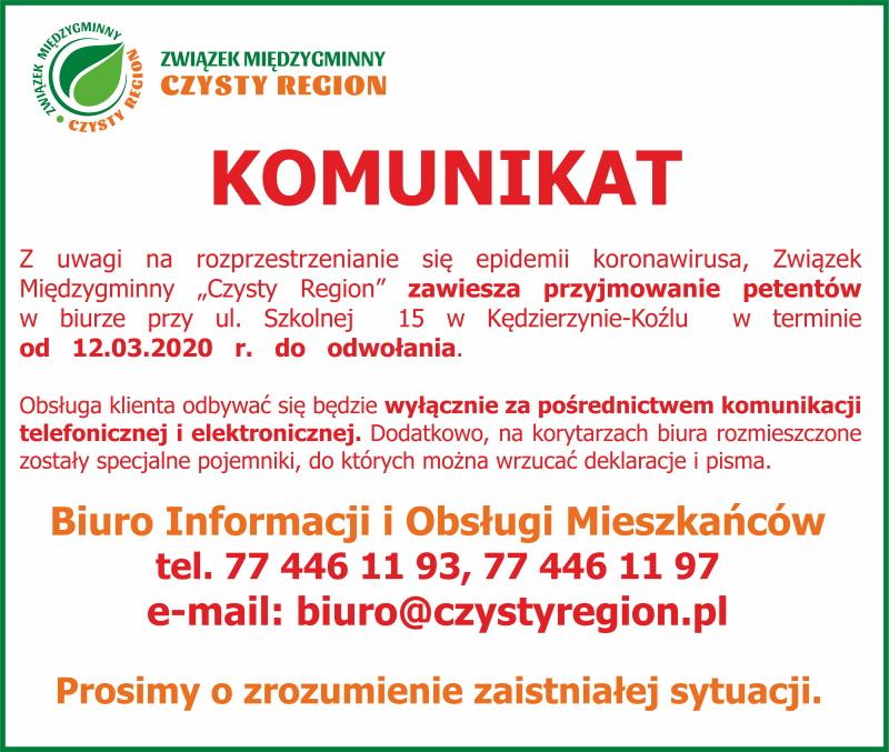 Komunikat Czysty Region.jpeg